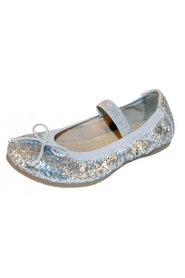 Move by Melton, ballerina, glitter silver