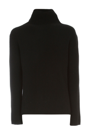 RIBBED SWEATER TURTLE NECK