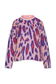 Sweater with animal motif