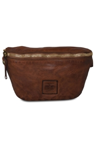 Campomaggi - Bum Bag Small - Cognac & Gold