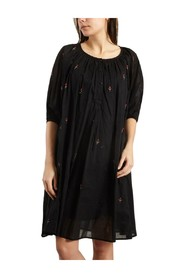 Begonia Embroidered Dress