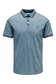 Blå Only & Sons Polo Stan