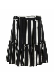 Skirt striped viscose