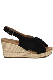 Camilla Wedge Black