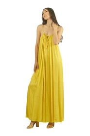 LONG DRESS WITH CHARM