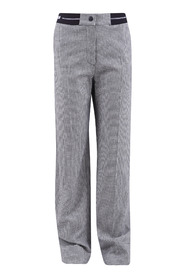 Wool and viscose trousers