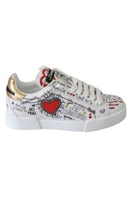 Heart Sneakers Shoes