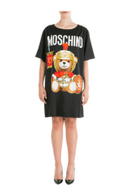 Mini dress short sleeve Roman Teddy Bear