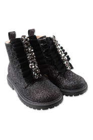 glittery boots