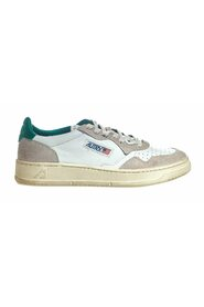 01 LOW  LEAT CRACK SNEAKERS