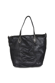 Campomaggi - Shopper with Studs - Black
