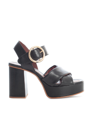 LYNA 105MM SANDALS W/BUCKLE ON ANKLE