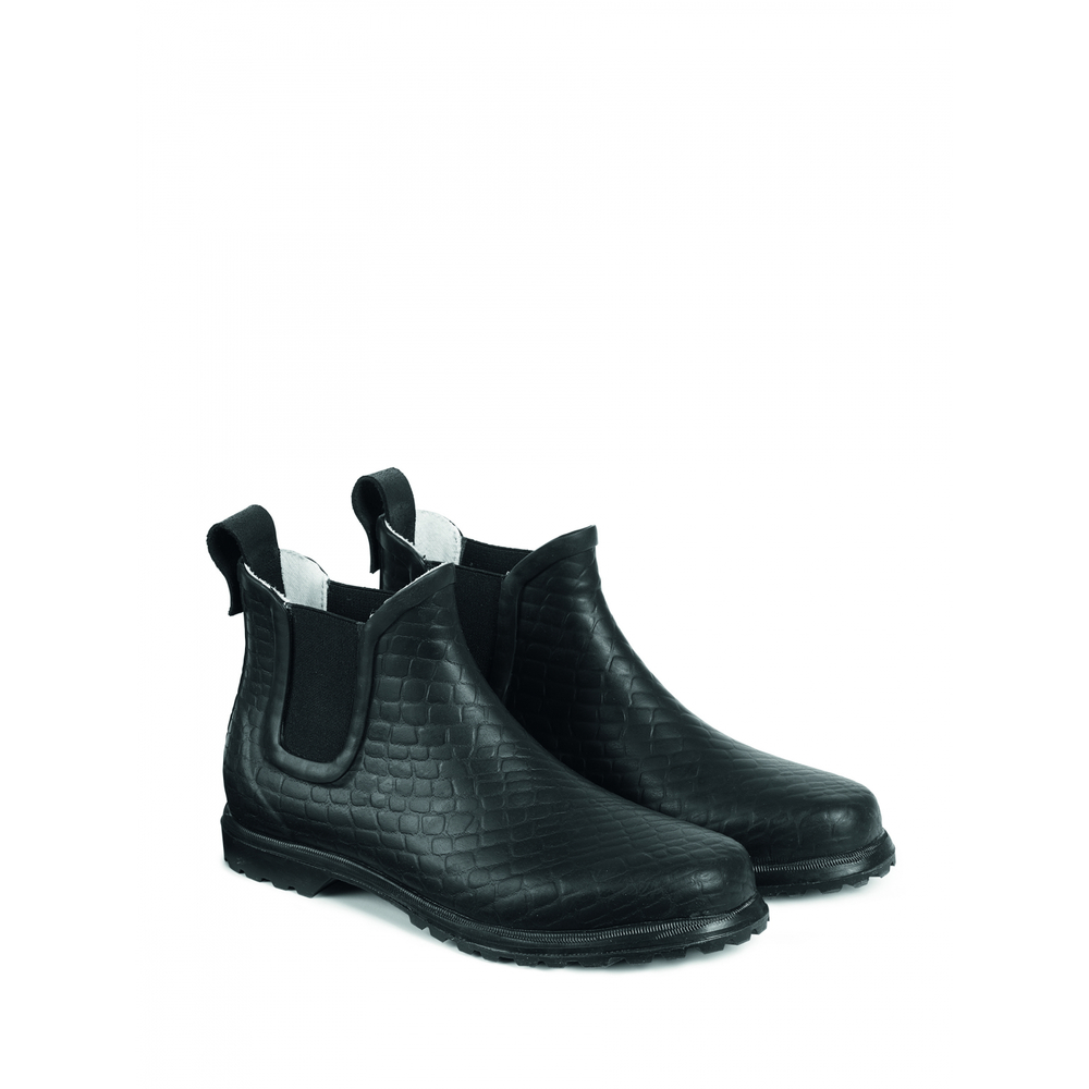 Black Rosemunde Wellingtons