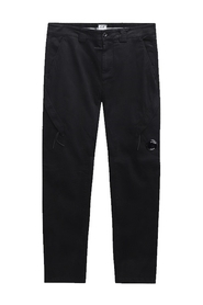 Garment Dyed Lens Pocket Cargo Pants