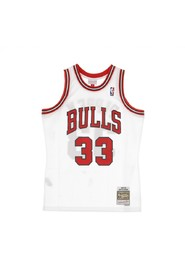 NBA Swingman Jersey Scottie Pippen No33 1997-98 Chibul Home Basketball Tank