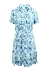 Abstract A-Line Print Dress