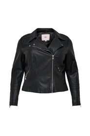 Faux Leather Jacket Curvy biker