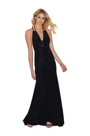 Long dress with spaghetti straps