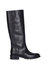 7411 leather high boots