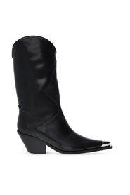 'Texas Cowboy' heeled ankle boots