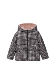 Printed quilted coat