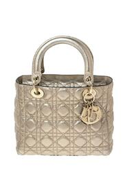 Pre-owned  Cannage Leather Lady Dior Tote