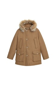 Arctic Anorak with removable fur