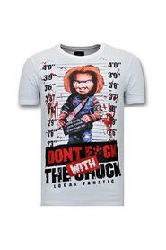 T-shirt Bloody Chucky Angry