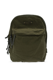 Backpack with two compartments
