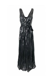 Maxi dress with sequins