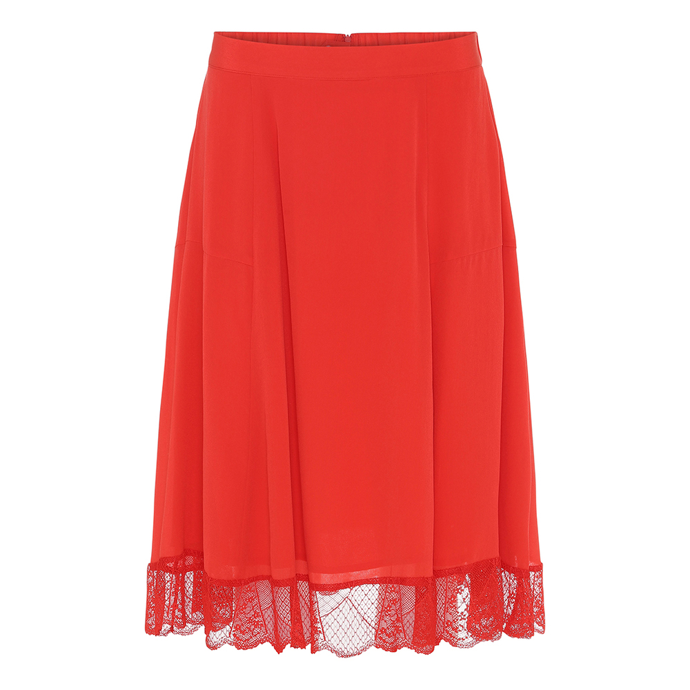 Ani Silk Skirt