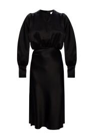 V-hals kjole