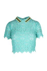 Lace Croop Top Pre Owned Condition Excellent