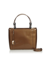 Malice Patent Leather Satchel