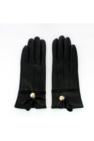 Women's leatherette gloves