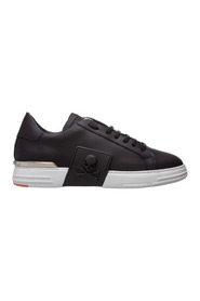 men's shoes leather trainers sneakers phantom