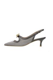 9161-KX Suede court shoe