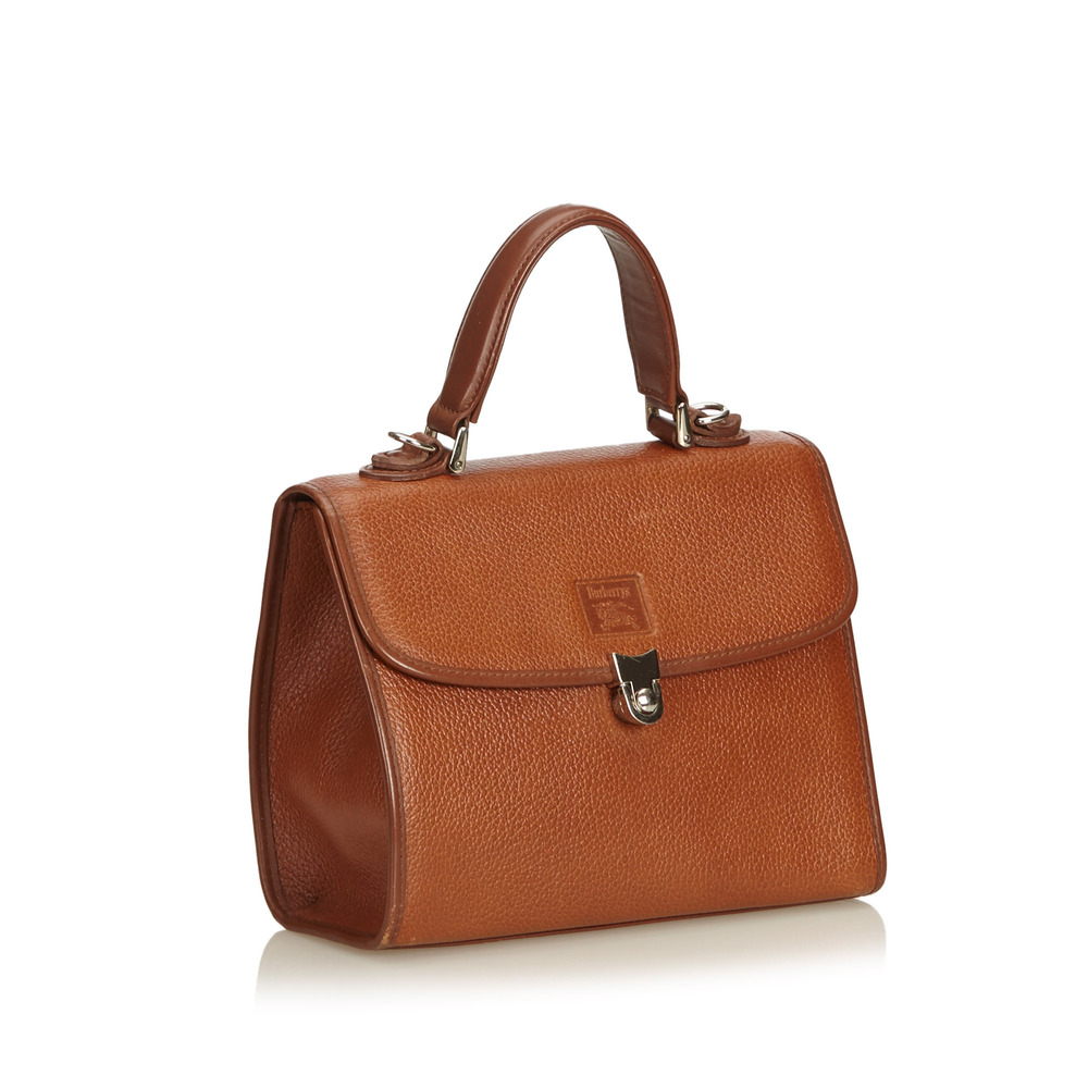 Brown Brown Leather Vintage SatchelBurberry Leather SatchelBurberry Tassen Yg7vbfy6