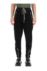 Joggers with zip