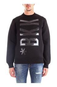 BIKKEMBERGS C61513DM4119 Sweat Men BLACK