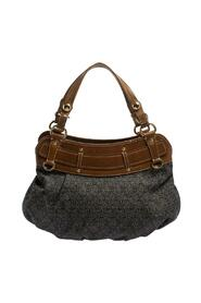 Monogram Canvas and Leather Hobo