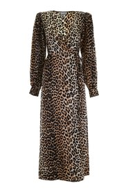 Dress Robe Leopard