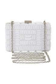 Lexi Large Beaded Box Clutch US