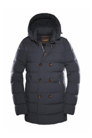 Florio double-breasted down jacket