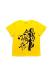 TEE W / SUP LEOPARD