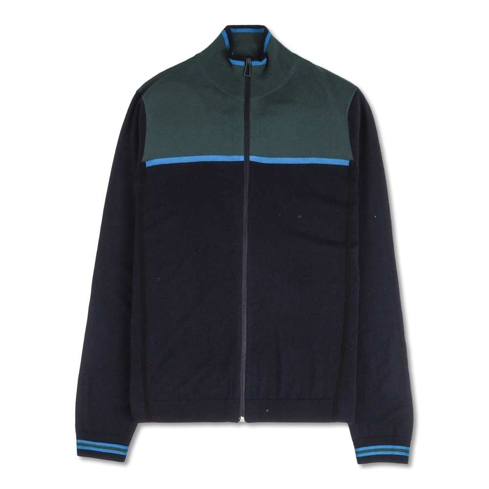 Mens Zip Cardigan