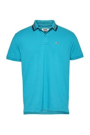 TOMMY JEANS DM0DM07196 SOLID STRETCH POLO Mænd Acquamarina