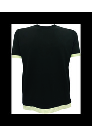 T-SHIRT WITH DOUBLE CONTRAST