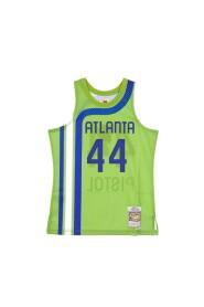 CANOTTA BASKET NBA SWINGMAN JERSEY HARDWOOD CLASSICS NO44 PETE MARAVICH 1970-71 ATLHAW ALTERNATE