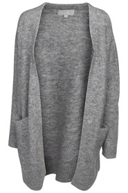 In Wear Kiki Cardigan Grey Melange